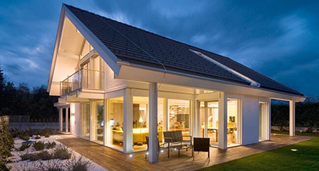 Kager haus schweiz case prefabbricate su misura in svizzera for Palazzine moderne